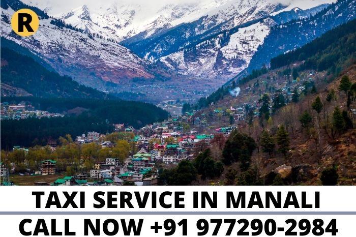 taxi service in manali