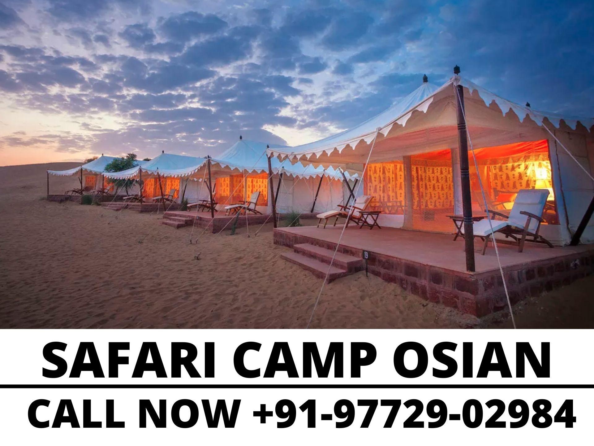 safari camp in ossian