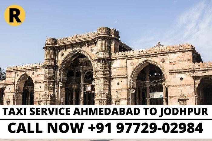TAXI SERVICE Jodhpur to Ahmedabad
